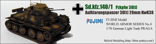 Sd.kfz.140/1 Akgpz 38(t)