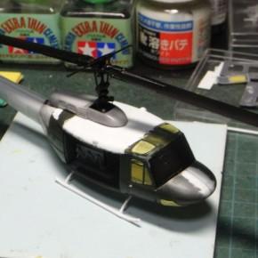 1/72 UH-1J@レベル&ハセガワ ①