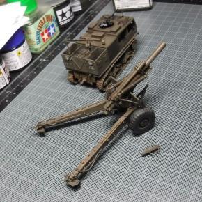 58式155mm榴弾砲 ⑤