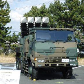 11式短距離地対空誘導弾@第44回木更津航空祭