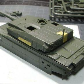 アオシマ 1/72 ミリタリーシリーズ 陸上自衛隊 10式戦車&特大型セミトレーラ 2
