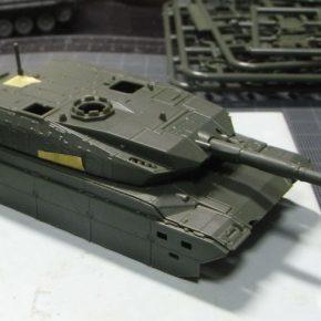 アオシマ 1/72 ミリタリーシリーズ 陸上自衛隊 10式戦車&特大型セミトレーラ 3