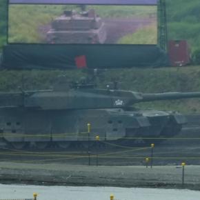 10式戦車@R1総火演