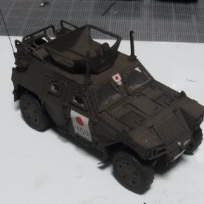 フジミ 1/72 軽装甲機動車(国教隊)①
