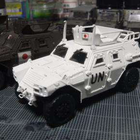 フジミ 1/72 軽装甲機動車(国教隊)②