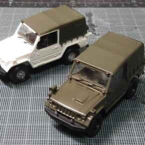 73式小型トラック(新型)警務隊仕様①