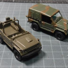 73式小型トラック(新型)武装/迷彩仕様①
