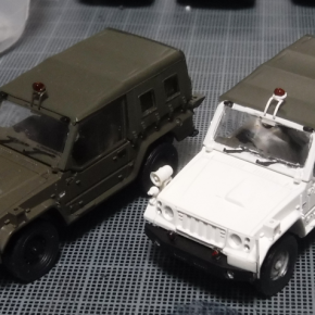73式小型トラック(新型)警務隊仕様②