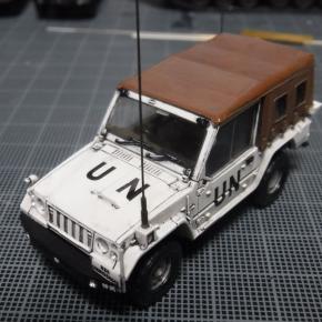 73式小型トラック(新型)海外派遣仕様②