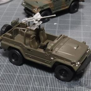 73式小型トラック(新型)武装仕様②
