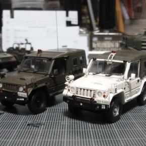 73式小型トラック(新型)警務隊仕様③