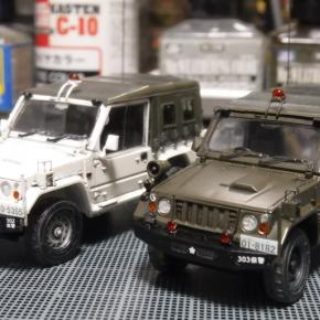 73式小型トラック(新型)警務隊仕様④