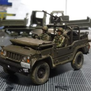 73式小型トラック(新型)武装仕様⑥