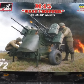"Armory 1/72 M45 ""Meat Chopper"""