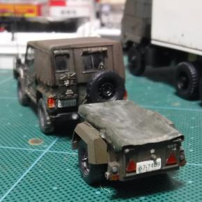 73式小型トラック(新型)12式地対艦誘導弾システム 中継装置(JMRC-R5)⑨