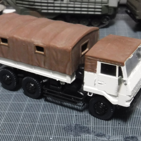 73式大型トラック(新型) 海外派遣仕様③
