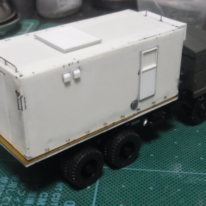 73式大型トラック(新型) 12式地対艦誘導弾 射撃管制装置③
