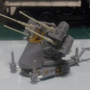1/72 M55 12.7mm 四連装対空機関銃架@航空自衛隊 ②