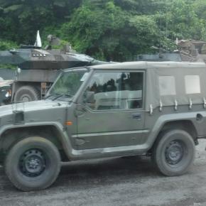 フジミ模型 1/72 陸上自衛1/2tトラック V17型/部隊用
