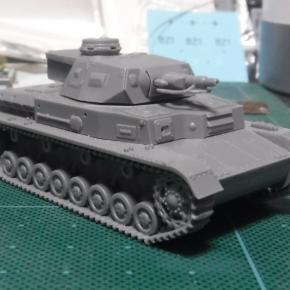 IBG Models 1/76 Panzerkampfwagen IV Ausf.D(TP) ①