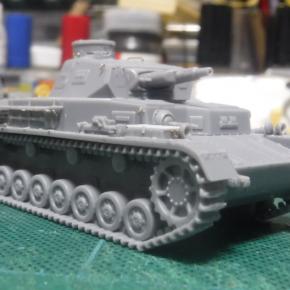 IBG Models 1/76 Panzerkampfwagen IV Ausf.A ②