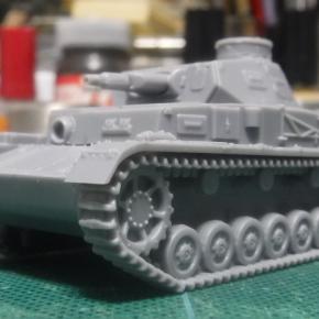 IBG Models 1/76 Panzerkampfwagen IV Ausf.A ①