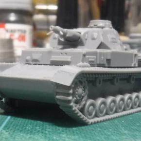 IBG Models 1/76 Panzerkampfwagen IV Ausf.B ①