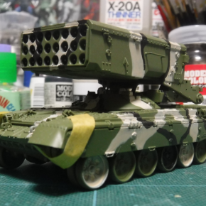 TOS-1A Heavy Flame Thrower System @ Model Collect 2